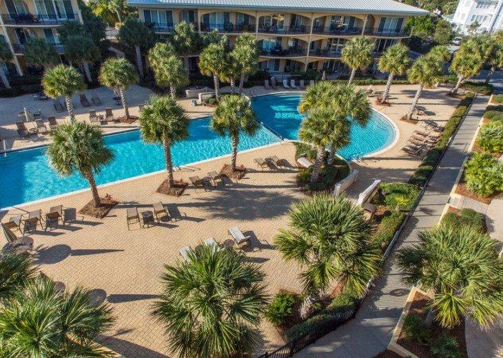Adagio D405 Premium Pool Front! Private Top Floor Corner! Direct Beach Access!! #7