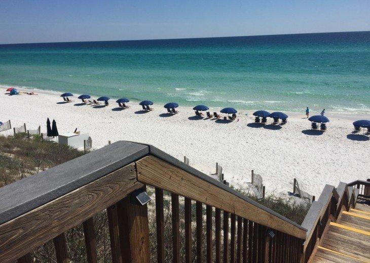 Adagio D405 Premium Pool Front! Private Top Floor Corner! Direct Beach Access!! #29