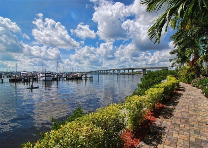 Full water view, newly renovated Condo at Harborage Yacht Club #13