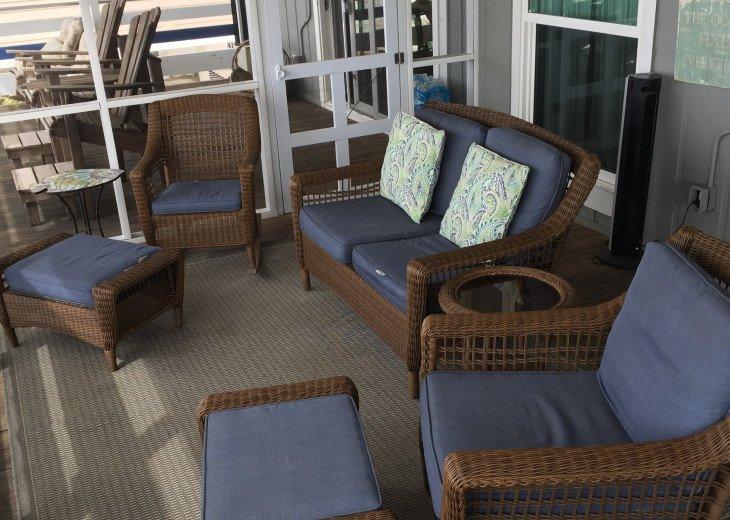 Blue Pearl, Gulf Front, Pets, Screen Deck & Open Deck, Beautiful! #49