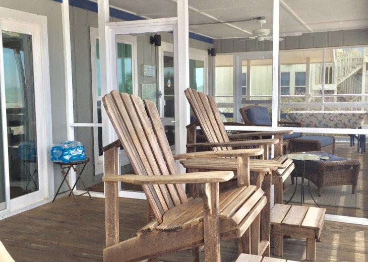 Blue Pearl, Gulf Front, Pets, Screen Deck & Open Deck, Beautiful! #47