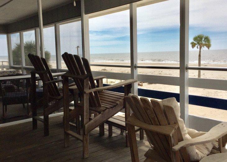 Blue Pearl, Gulf Front, Pets, Screen Deck & Open Deck, Beautiful! #45