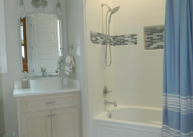 Full bath on the 1/2 floor - ask