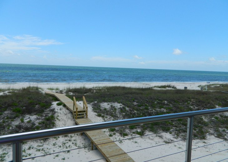 View living deck