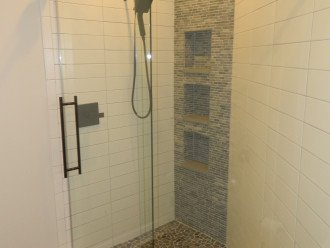 Queen Bath custom shower