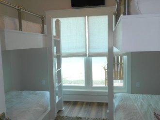 Custom built in bunk beds