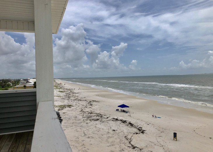 View from 4th Floor Private Deck. July 2019