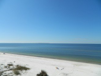 Tip of Cape San Blas in the far distant to the left