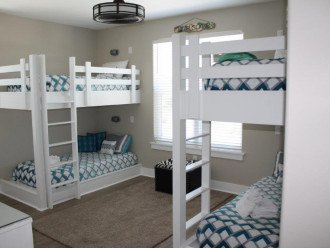 Custom built in bunks