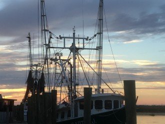 Shrimp Boat in Apalachicola