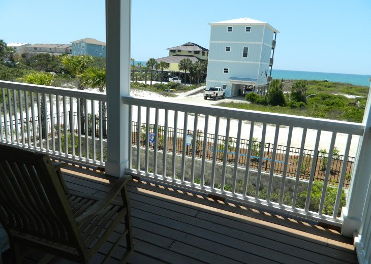 Deck with views outside of King Master #1