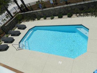 Pool is heated seasonally for no extra charge