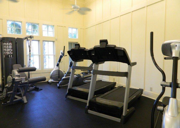 Ovation Community Fitness Area