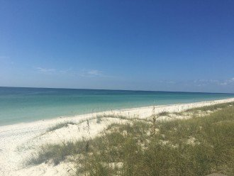 Cape San Blas offers beautiful Emerald Blue-Green Water