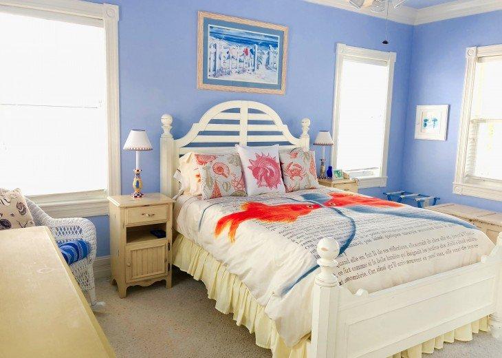 Guest Bedroom #1 with queen bed