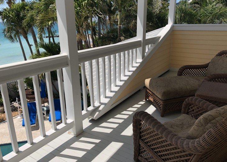 Private Master Suite Balcony.