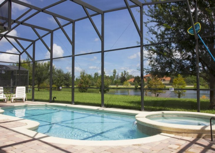 5 Bed 3.5 bath pool home with pool and spa Kissimmee #21
