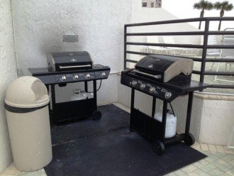 BBQs available for use