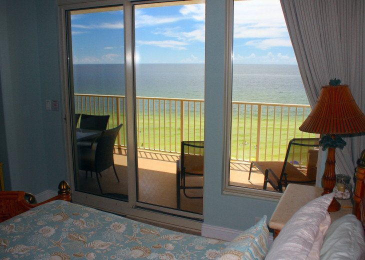 View from our Master Bedroom suite looking over the Gulf of Mexico