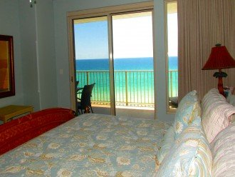 View from our Master Bedroom Suite of Gulf of Mexico