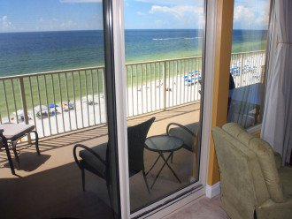 View from our Great room looking over the Gulf of Mexico