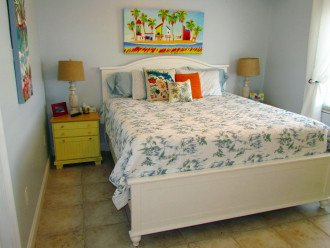 Guest Bedroom with King Bed, HD Flat Screen TV and DVD player