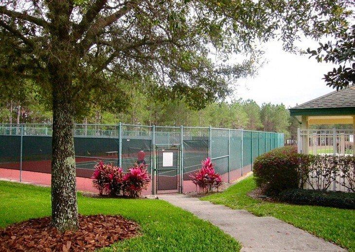 Communal Tennis Court