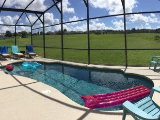 Chill out on the pool deck or cool off in the pool.
