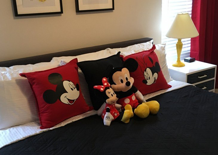 The 1st Master is Mickey's & Minnie's Bedroom