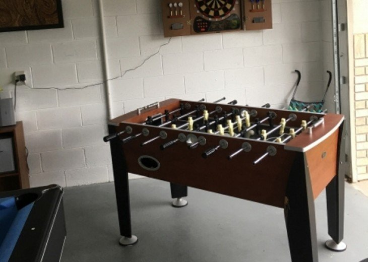 and even a lighting fast foos ball table!