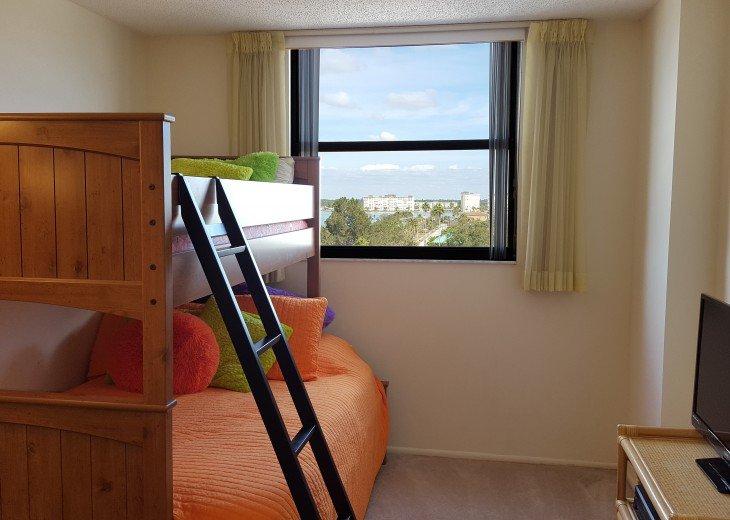 Second Bedroom - Double/Twin bunk