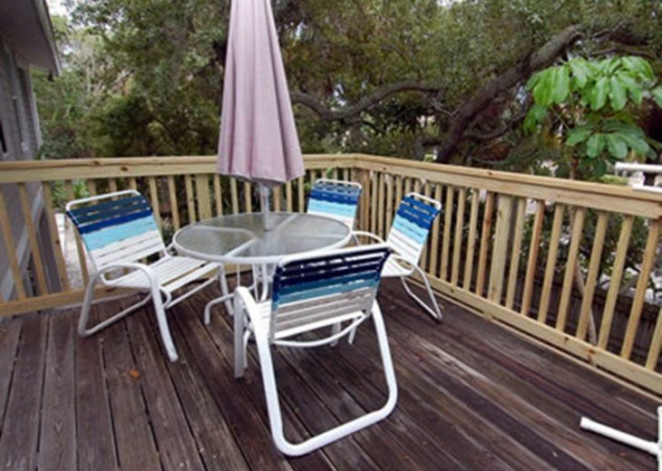 """""""SITTING ON THE DOCK OF THE BAY"""" """"Coastal Courtyard"""" 6151 Midnight Pass Rd. #13"""