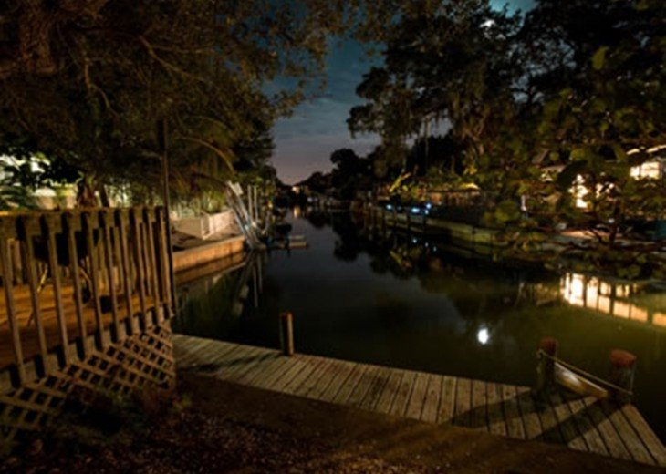 """""""SITTING ON THE DOCK OF THE BAY"""" """"Coastal Courtyard"""" 6151 Midnight Pass Rd. #2"""