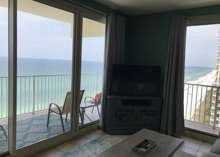 Shores of Panama * Oceanfront corner unit with wraparound balcony #9