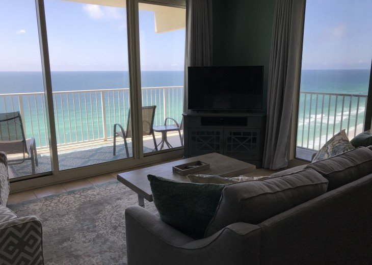 Shores of Panama * Oceanfront corner unit with wraparound balcony #10