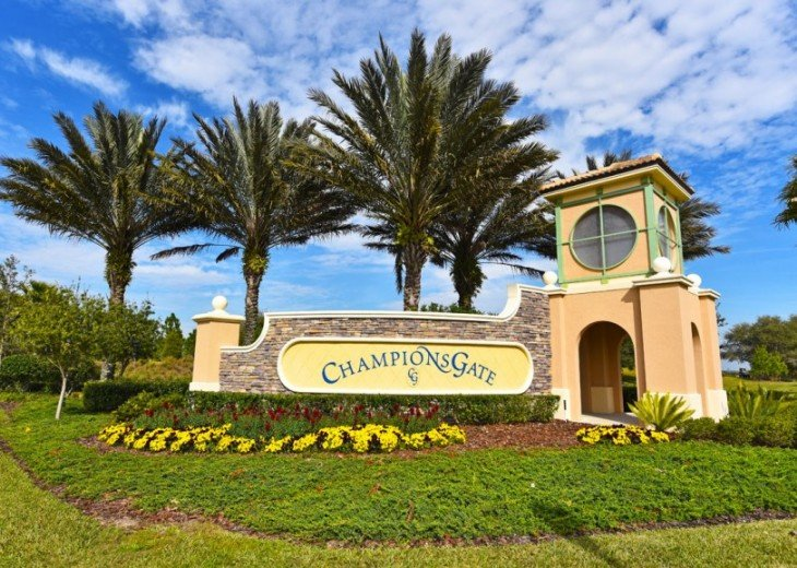 Luxury 4BR 3Bth Champions Gate Townhouse w/ Splash Pool -CG1588 #21