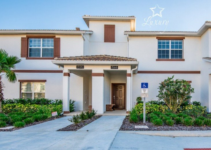 Luxury 4BR 3Bth Champions Gate Townhouse w/ Splash Pool -CG1588 #2