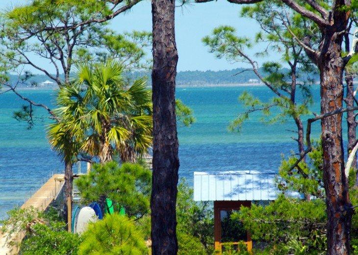 Cape San Blas House Rental Bay Property 500 Dockkayakssups