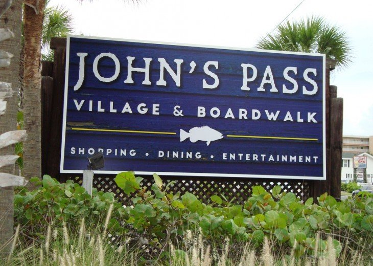 Madeira Gulf-View Condo across from John's Pass Village - Ask About Specials!!! #20