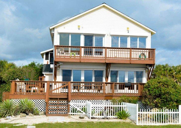 ST AUGUSTINE BEACH DIRECT OCEANFRONT BEACH HOUSE SLPS 2-8 or 12 fr $199 NIGHT #2