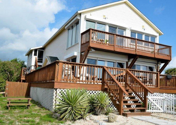 ST AUGUSTINE BEACH DIRECT OCEANFRONT BEACH HOUSE SLPS 2-8 or 12 fr $199 NIGHT #3