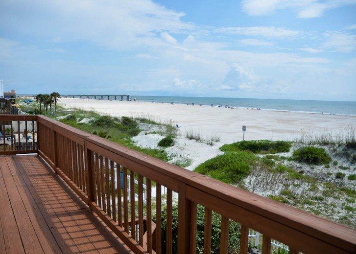ST AUGUSTINE BEACH DIRECT OCEANFRONT BEACH HOUSE SLPS 2-8 or 12 fr $199 NIGHT #6