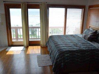 KING BED IN OCEANFRONT MASTER BEDROOM WITH 100 SQFT BALCONY