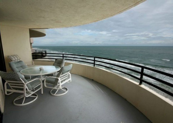 Direct Oceanfront. Largest Balcony in Daytona Beach!! #15