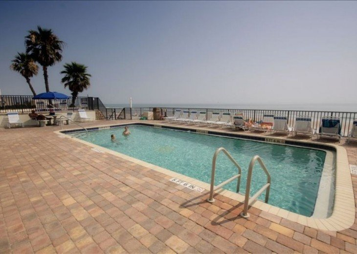 Direct Oceanfront. Largest Balcony in Daytona Beach!! #16