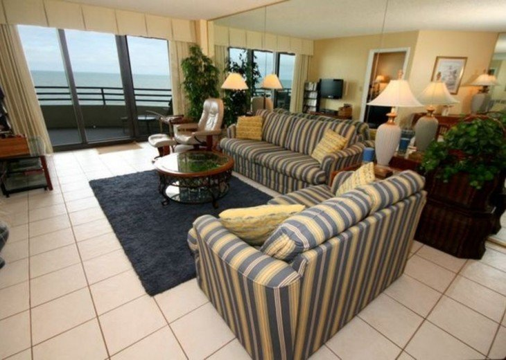 Direct Oceanfront. Largest Balcony in Daytona Beach!! #3