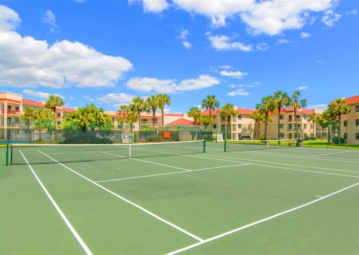SPRING SPECIAL- BEACH ACCESS-VACATION RENTAL-2 POOLS-1 heated, TENNIS-BBQ #100
