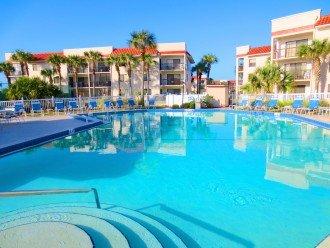 Heated pool - easy access