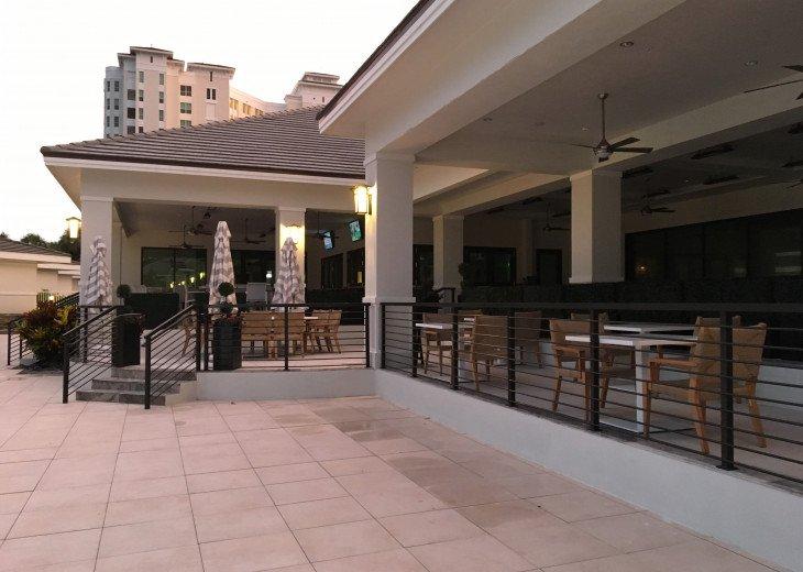 Tiki Bar at the pool