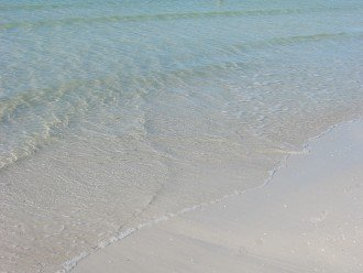 Siesta Key beach has been voted to have the whitest sand in USA!